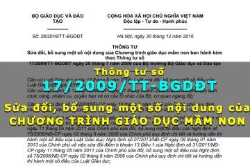 thong-tu-17-2009-tt-gdđt